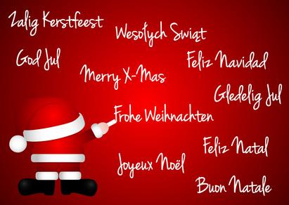 Frohe Weihnachten und ein glückliches Neues Jahr ...